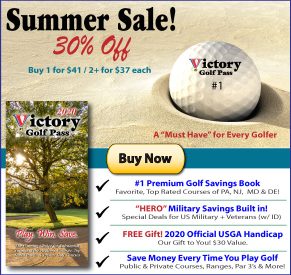 Victory Golf Pass :: Save Money Every Time You Play Golf!