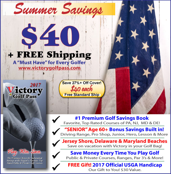 Victory Golf Pass Summer Savings! 27% Off Cover + FREE Shipping.